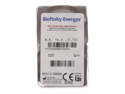 Biofinity Energys (3 lenti) - Blister pack preview