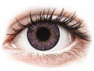 Lenti a contatto colorate correttive - FreshLook ColorBlends Amethyst - correttive (2 lenti)