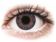 Lenti a contatto colorate non correttive - FreshLook ColorBlends Amethyst - non correttive (2 lenti)
