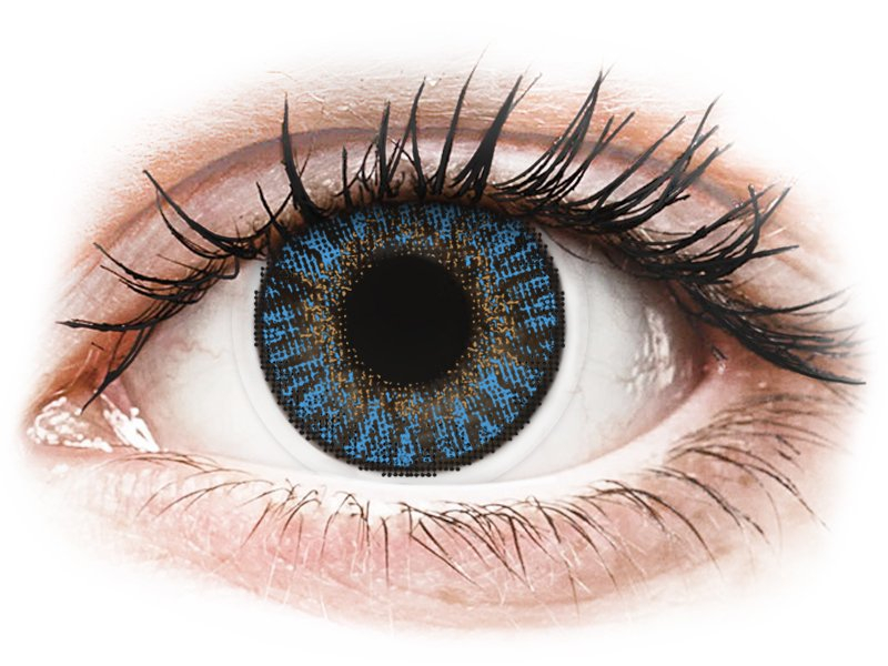 FreshLook ColorBlends True Sapphire - correttive (2 lenti) - Coloured contact lenses