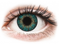 Lenti a contatto blu - non correttive - FreshLook ColorBlends Turquoise - non correttive (2 lenti)