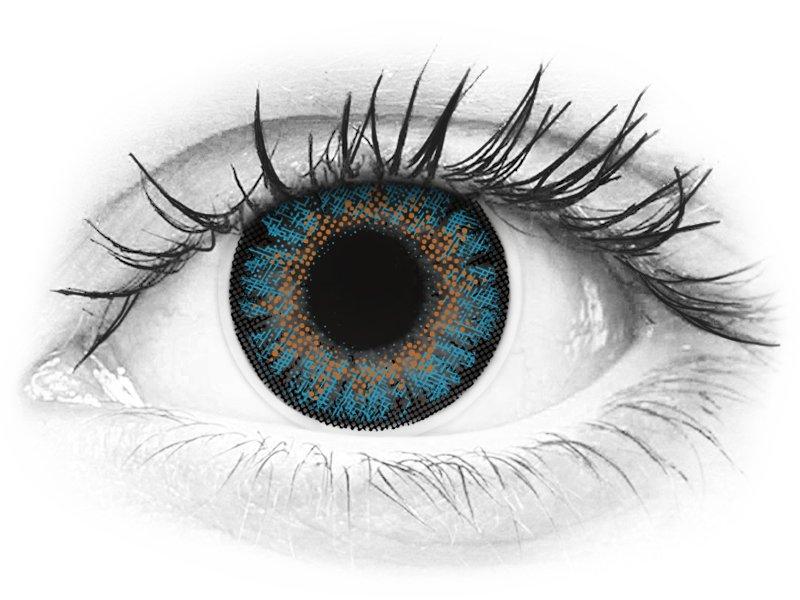 ColourVue One Day TruBlends Blue - correttive (10 lenti)