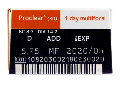 Proclear 1 Day multifocal (30lenti) - Attributes preview