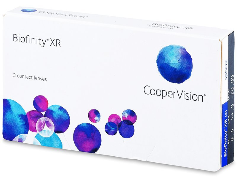 Biofinity XR (3 lenti) - Monthly contact lenses