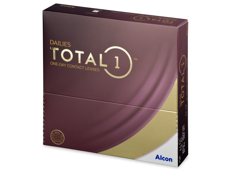 Dailies TOTAL1 (90 lenti) - Daily contact lenses