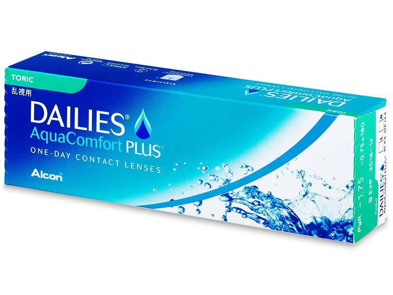 Dailies AquaComfort Plus Toric (30 lenti) - Toric contact lenses