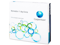 Biomedics 1 Day Extra (90lenti) - Daily contact lenses