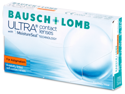 Bausch + Lomb ULTRA for Astigmatism (6 lenti)