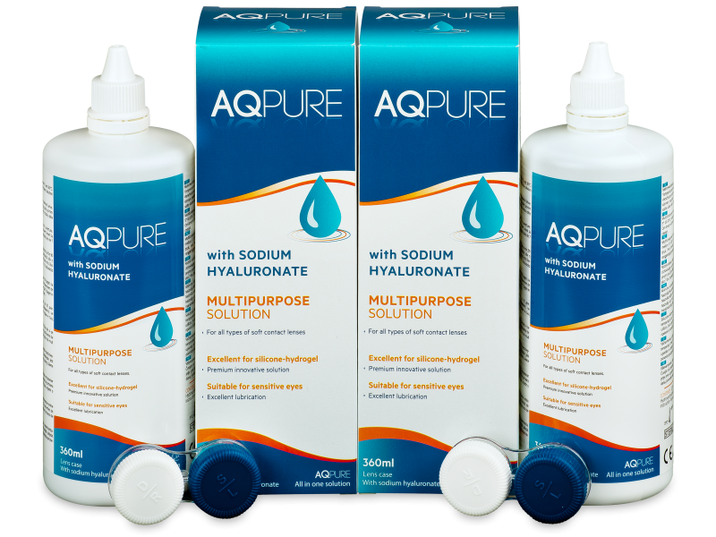 Soluzione AQ Pure 2 x 360 ml  - Economy duo pack - solution
