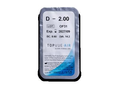 TopVue Air (6 lenti) - Blister pack preview