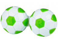 Accessori per le lenti - Astuccio porta lenti Football - green