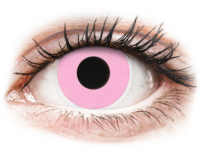 ColourVUE Crazy Lens - Barbie Pink - non correttive (2 lenti)