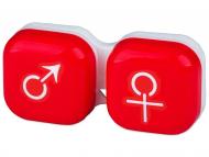 Custodie e Astucci - Astuccio porta lenti man&woman - red