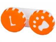 Custodie e Astucci - Astuccio porta lenti Paw orange