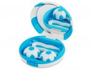 Accessori per le lenti - Astuccio con specchietto Football - blue
