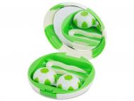 Accessori per le lenti - Astuccio con specchietto Football Green