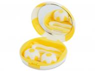 Accessori per le lenti - Astuccio con specchietto Football - yellow