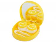 Astuccio con specchietto - Astuccio con specchietto Smile - yellow