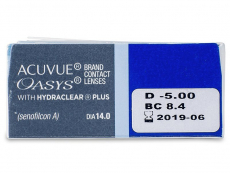 Acuvue Oasys (12lenti) - Attributes preview