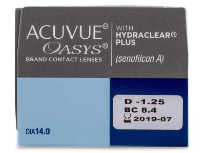 Acuvue Oasys (24 lenti) - Attributes preview
