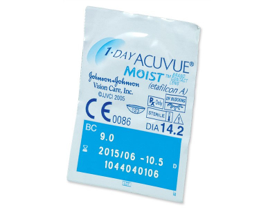 1 Day Acuvue Moist (180 lenti) - Blister pack preview