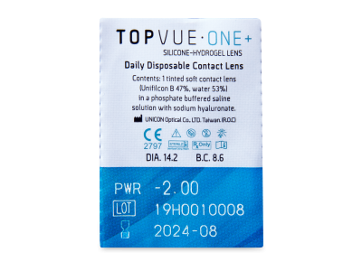 TopVue One+ (90 lenti) - Blister pack preview