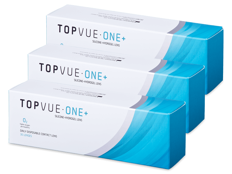 TopVue One+ (90 lenti) - Daily contact lenses