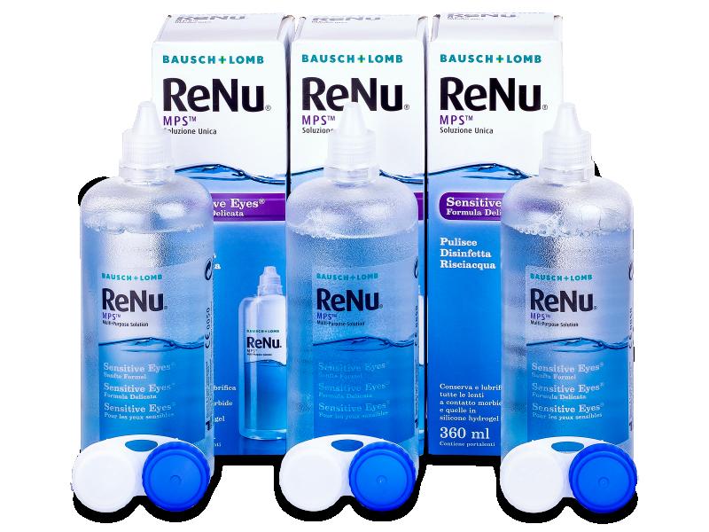 Soluzione ReNu MPS Sensitive Eyes 3x360 - Economy 3-pack - solution