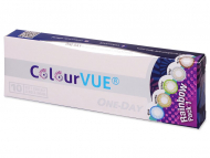 Lenti a contatto Maxvue Vision - ColourVue One Day TruBlends Rainbow (10 lenti)
