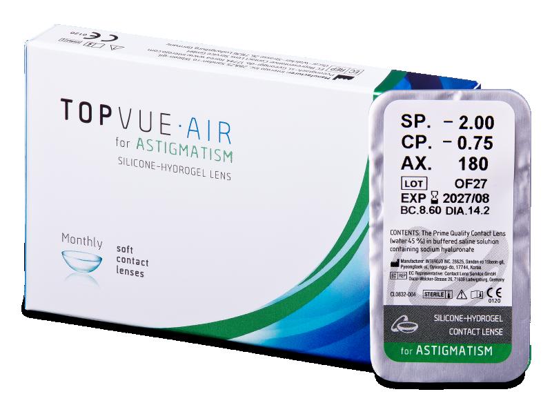 TopVue Air for Astigmatism (1 lente) - Toric contact lenses