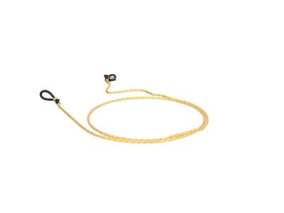 Cordino per occhiali in metallo BC15 - Oro