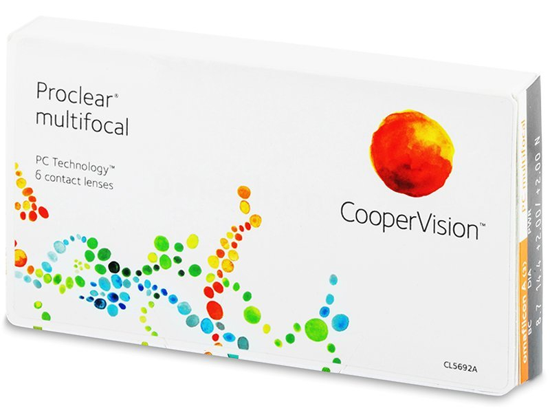 Proclear Multifocal XR (6 lenti) - Multifocal contact lenses