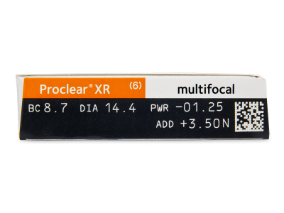 Proclear Multifocal XR (6 lenti) - Attributes preview