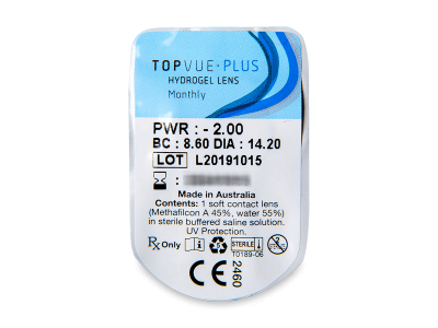 TopVue Plus (6 lenti) - Blister pack preview