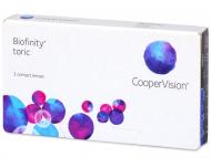 Biofinity Toric (3 lenti) - Toric contact lenses