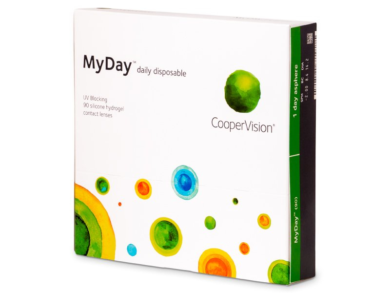 MyDay daily disposable (90 lenti) - Daily contact lenses