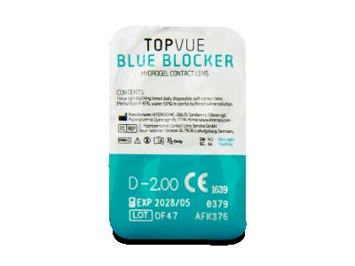 TopVue Blue Blocker (90 lenti) - Blister pack preview
