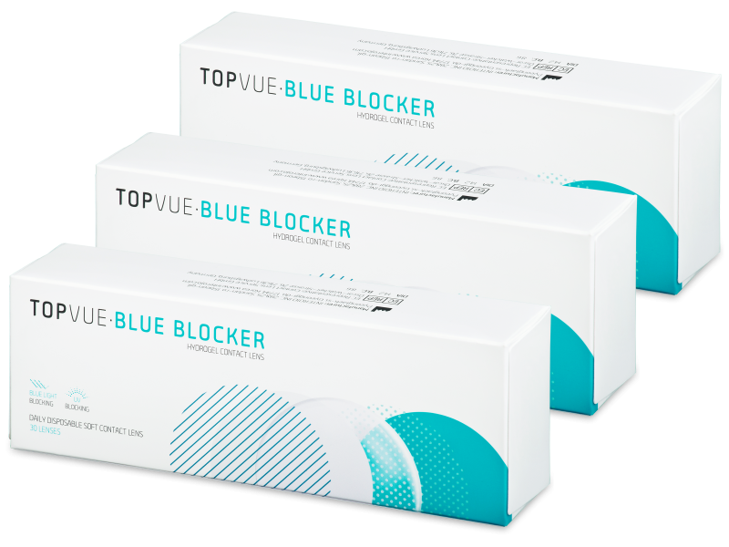 TopVue Blue Blocker (90 lenti) - Daily contact lenses