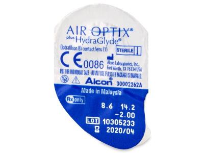 Air Optix plus HydraGlyde (6 lenti) - Blister pack preview