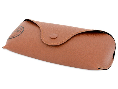 Occhiali da sole Ray-Ban Justin RB4165 - 865/T5 POL  - Original leather case (illustration photo)