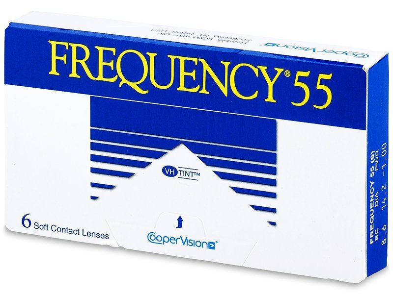 Frequency 55 (6 lenti) - Monthly contact lenses