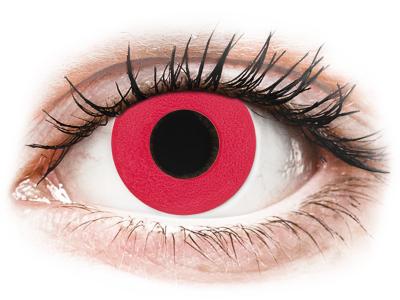 CRAZY LENS - Solid Red - giornaliere correttive (2 lenti)