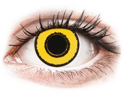 CRAZY LENS - Yellow Twilight - giornaliere correttive (2 lenti)