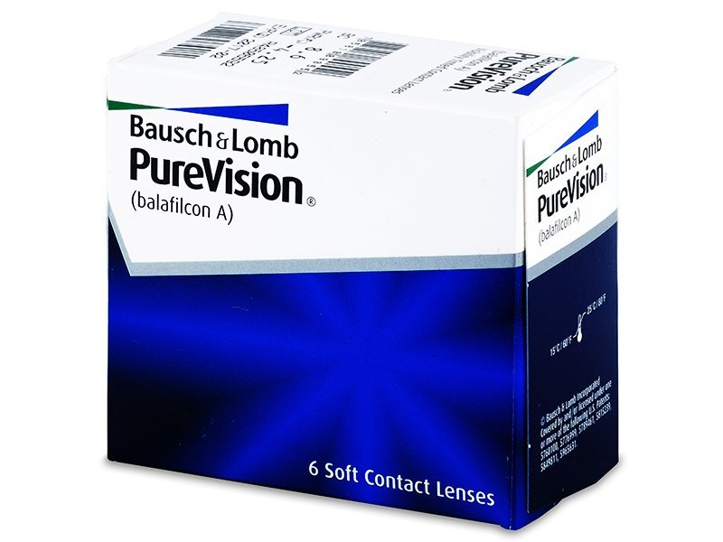 PureVision (6 lenti) - Monthly contact lenses