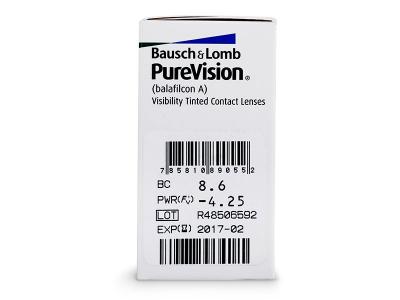PureVision (6 lenti) - Attributes preview