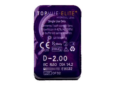 TopVue Elite+ (90 lenti) - Blister pack preview