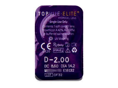 TopVue Elite+ (30 lenti) - Blister pack preview