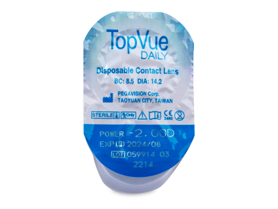 TopVue Daily (90 lenti) - Blister pack preview