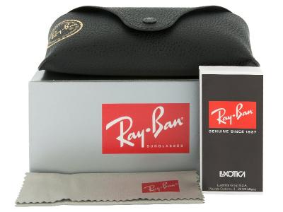Occhiali da sole Ray-Ban Justin RB4165 - 601/8G  - Preivew pack (illustration photo)