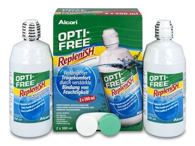 Soluzione OPTI-FREE RepleniSH 2 x 300 ml